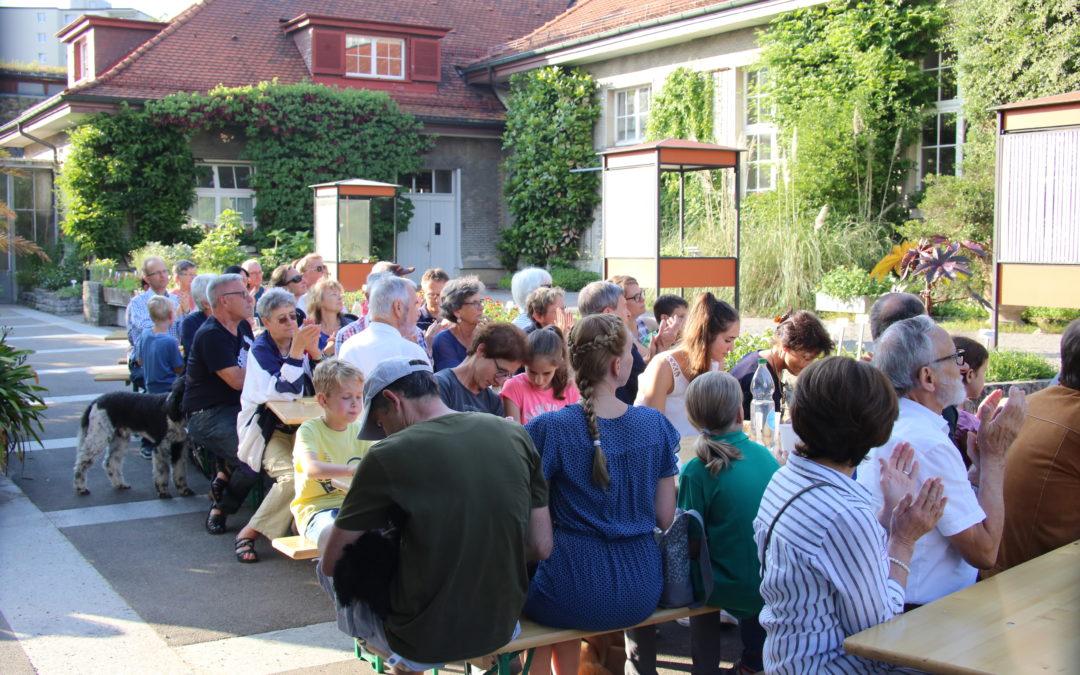 Club 200 Treffen vom 18. Juni 2018 im Botanischen Garten St. Gallen